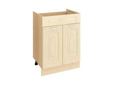 Стол с 1 ящиком метабоксы без столешницы Глория 03.58.2 600х470х820