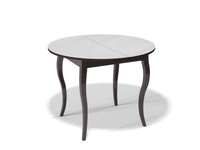 Стол Kenner 1000 С венге/стекло белое