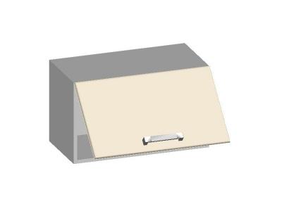 Шкаф навесной 600 с горизонтальным фасадом 14.07 Умница Ваниль 600х320х360