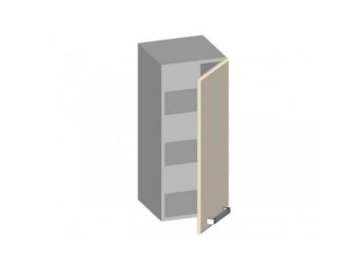Шкаф навесной 300 с глухим фасадом 14.41 Умница Ваниль 300х320х720