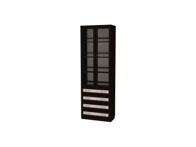 Шкаф для книг с ящиками артикул 204 венге