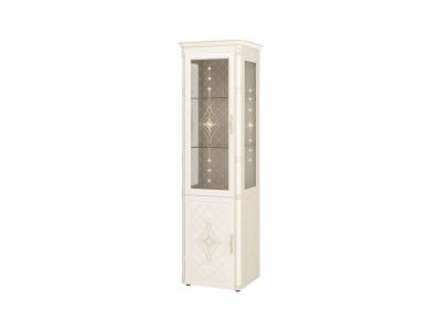 Шкаф-витрина-сервант с колоннами лев-прав 32.08 Венеция 600х450х2230