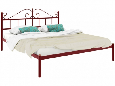 Кровать Диана красная