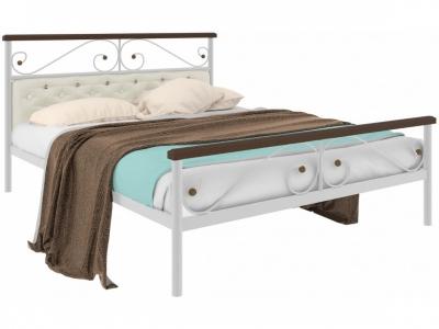 Кровать Эсмеральда plus мягкая белая