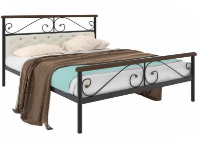 Кровать Эсмеральда plus мягкая черная