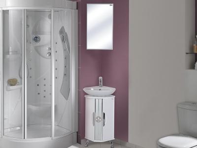Комплект для ванной Флорена угловая
