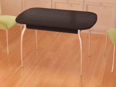 Стол раздвижной Gold без стекла Дуб Венге