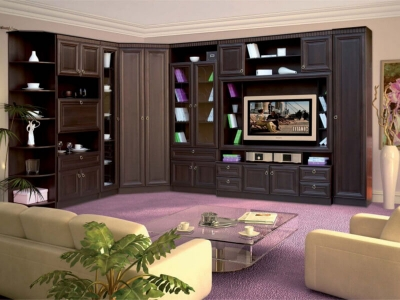 Гостиная Инна Денвер темный комплектация 2