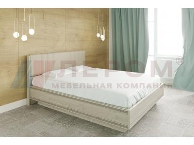 Кровать с мягким изголовьем КР-1014 1800х2000 Гикори Джексон светлый