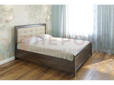 Кровать с мягким изголовьем КР-1034 1800х2000 Акация Молдау