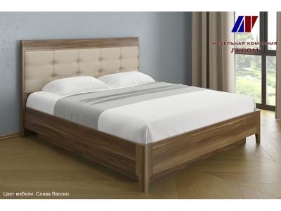 Кровать с мягким изголовьем КР-1074 1800х2000 Слива Валлис