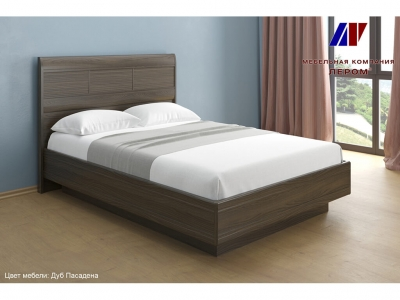 Кровать КР-1802 1400х2000 Дуб Пасадена