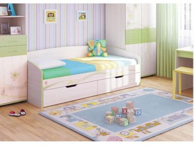 Кровать детская Акварель 53.11