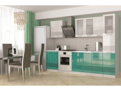Кухня София 3D с пеналом 2200