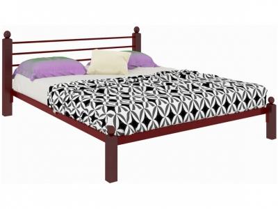Кровать Милана Lux красная
