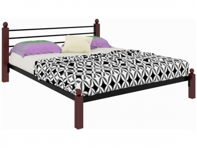 Кровать Милана Lux черная