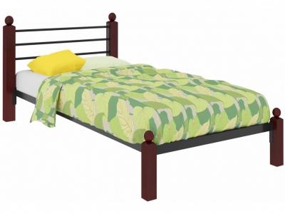 Кровать Милана Мини Lux чёрная