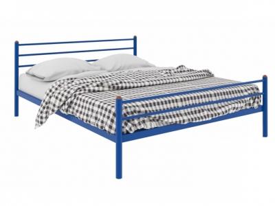 Кровать Милана Plus синяя