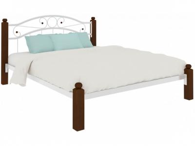 Кровать Надежда Lux белая
