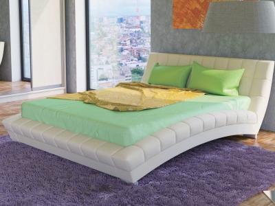 Интерьерная кровать Оливия белая