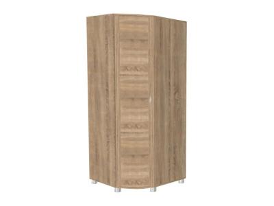 Шкаф для одежды и белья ШК-907 2172х891-891х620 Дуб Сонома