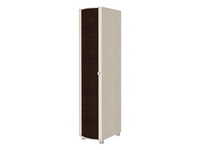 ШК-203 Шкаф для одежды и белья 2172х448х620 Дуб Беленый - комбинированный