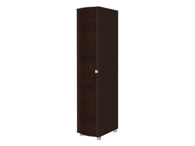 ШК-203 Шкаф для одежды и белья 2172х448х620 Дуб Венге