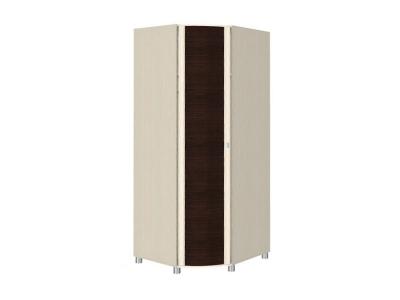 ШК-204 Шкаф для одежды и белья 2172х891х891 Дуб Беленый - комбинированный