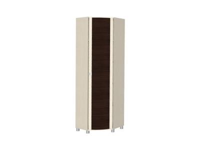ШК-205 Шкаф для одежды и белья 2172х670х670 Дуб Беленый - комбинированный