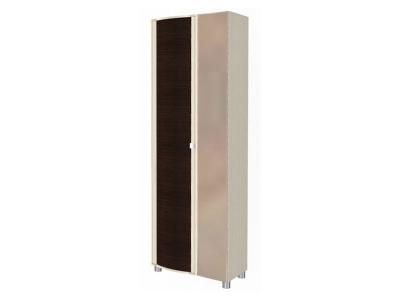 ШК-227 Шкаф для одежды 2172х712х396 Дуб Беленый - комбинированный