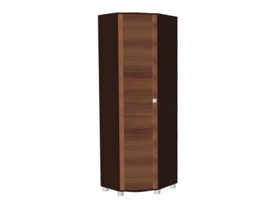 ШК-305 Шкаф для одежды и белья 2172х670х670 Дуб Венге-Слива Валлис