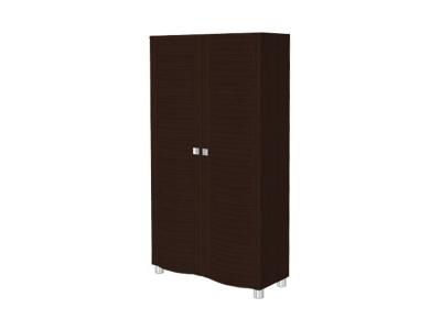 ШК-311 Шкаф для одежды и белья 1676х896х396 Дуб Венге