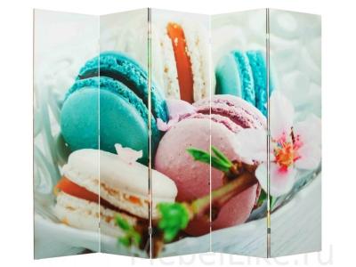 Ширма 1114-5 Macarons 5 панелей