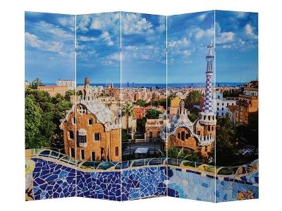Ширма 1405-5 Барселона 5 панелей