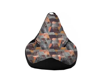 Кресло-мешок Snow Mango-Black 2 кат.