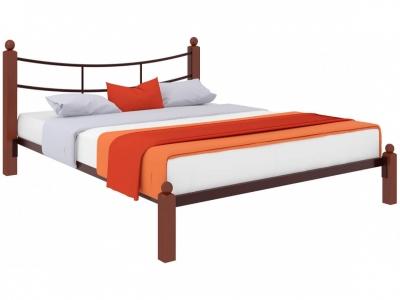 Кровать София Lux коричневая