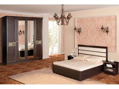Спальня Инна Денвер темный комплектация 1