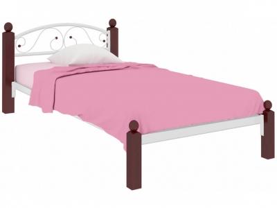 Кровать Вероника Мини Lux белая