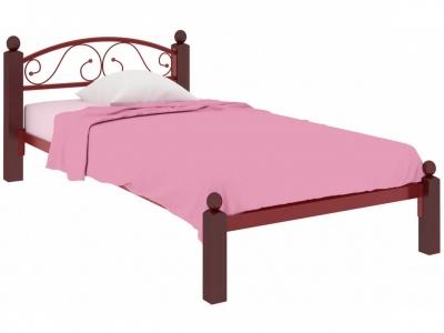 Кровать Вероника Мини Lux красная