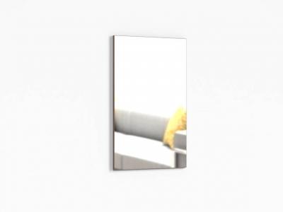 Зеркало настенное Крокус ПР-ШН-1-1 600х20х1000 Ясень шимо темный