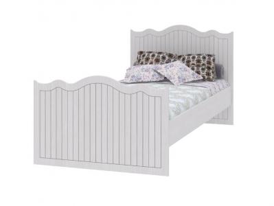 Кровать 900 с настилом Белла ИД 01-252 966х2042х781