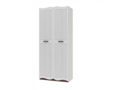 Шкаф для одежды 2-х дверный Белла ИД 01-348 450х900х2086