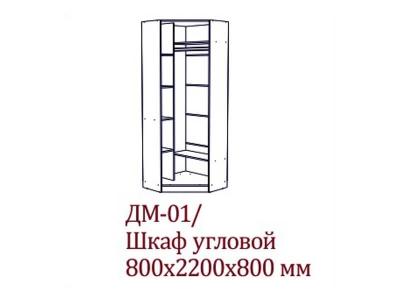 Детская Вега СВ ДМ-01 Шкаф угловой 800х2200х800 мм