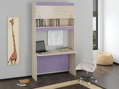Детский письменный стол с надстройкой Индиго ГН-145.010