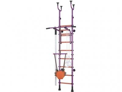 Детский спортивный комплекс Polini Sport Active комбинированный, фиолетовый