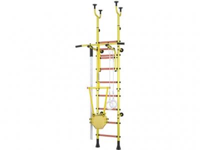 Детский спортивный комплекс Polini Sport Active комбинированный, жёлтый
