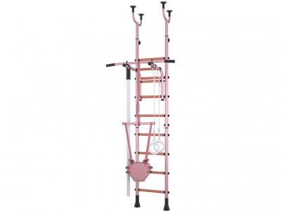 Детский спортивный комплекс Polini Sport Neo враспор, розовый