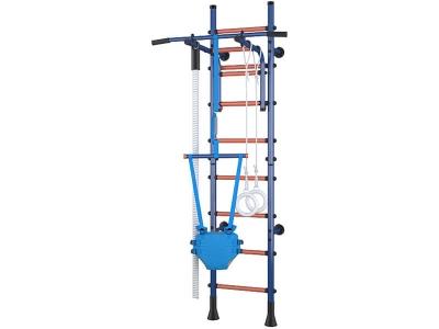 Детский спортивный комплекс Polini Sport Turbo пристенный, синий