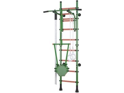 Детский спортивный комплекс Polini Sport Turbo пристенный, зелёный