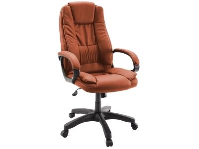Компьютерное кресло Dikline CL45-37 к/з паприка